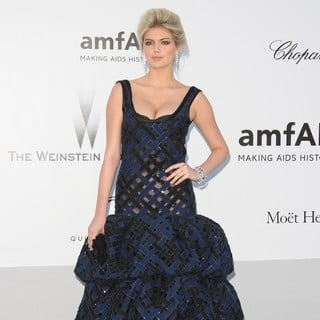Kate Upton in AmfAR's Cinema Against AIDS Gala 2012 - During The 65th Annual Cannes Film Festival