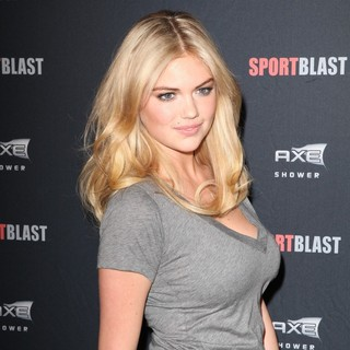 Kate Upton in The Axe SportsBlast Combine House Event
