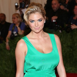 Kate Upton in PUNK: Chaos to Couture Costume Institute Gala
