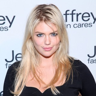 Kate Upton in Jeffrey Fashion Cares 2012