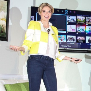 Kate Upton in Samsung Spring Launch Event