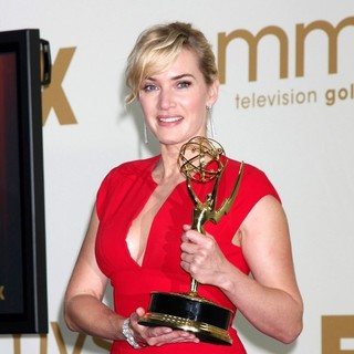 Kate Winslet in The 63rd Primetime Emmy Awards - Press Room