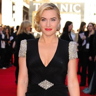 Kate Winslet in Titanic 3D Premiere - Arrivals