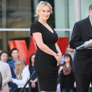 Kate Winslet - Kate Winslet Honored with Star on The Hollywood Walk of Fame