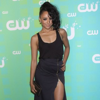 Katerina Graham in 2012 The CW Upfront Presentation