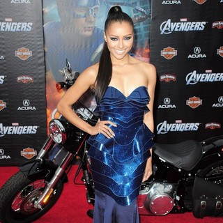 Katerina Graham in World Premiere of The Avengers - Arrivals