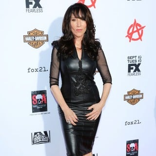 Katey Sagal in Premiere of FX's Sons of Anarchy Season Six - Arrivals