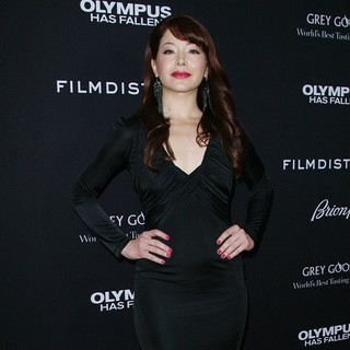 Katherine Castro in Los Angeles Premiere of Olympus Has Fallen