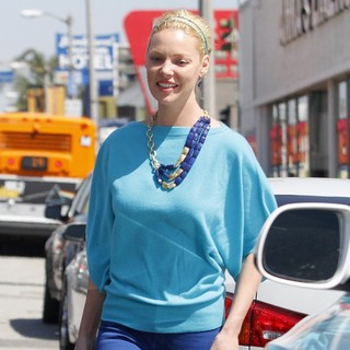 Katherine Heigl Leaving Lunch in West Hollywood
