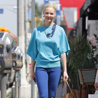 Katherine Heigl in Katherine Heigl Leaving Lunch in West Hollywood