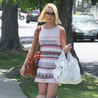 Katherine Heigl in Katherine Heigl Arrives for A Mother's Day Party