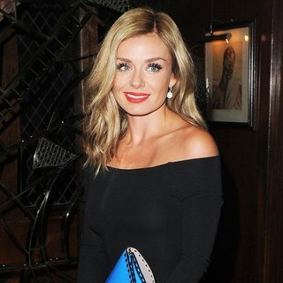 Katherine Jenkins Arrives at The Ivy Restaurant