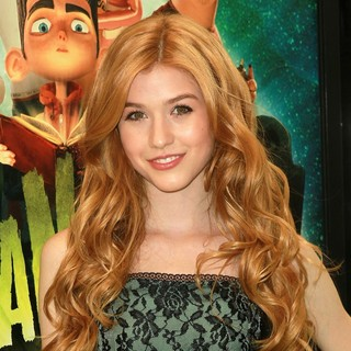 Katherine McNamara in World Premiere of ParaNorman