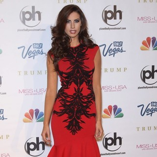 Katherine Webb in 2013 Miss USA Pageant - Arrivals