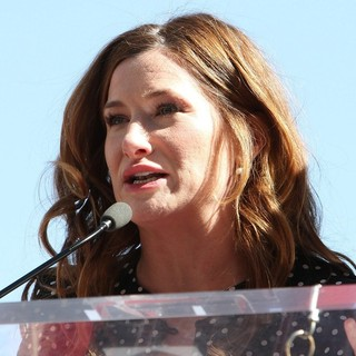 Kathryn Hahn in Jennifer Aniston Is Honored with A Star on The Hollywood Walk of Fame