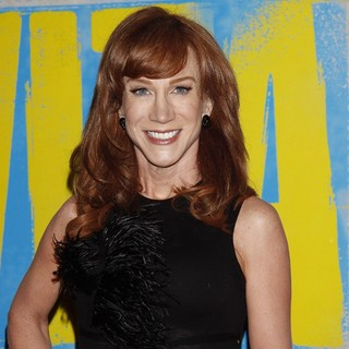 Kathy Griffin in Broadway Opening Night of Evita - Arrivals