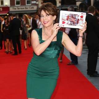 Kathy Lette in Diana World Premiere - Arrivals