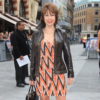 Kathy Lette in The UK Premiere of Rock of Ages