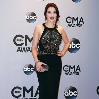 Katie Armiger in 48th Annual CMA Awards - Red Carpet