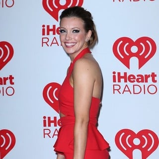 Katie Cassidy in 2012 iHeartRadio Music Festival - Day 2 - Arrivals