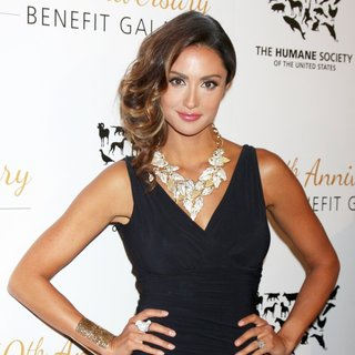 Katie Cleary in The Humane Society of The United States 60th Anniversary Benefit Gala