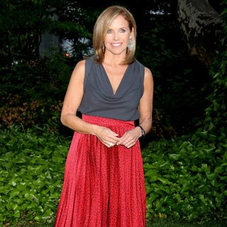 Katie Couric in Bette Midler's New York Restoration Project 12th Annual Spring Picnic - Arrivals