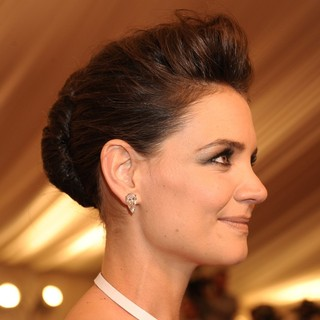 Katie Holmes in PUNK: Chaos to Couture Costume Institute Gala