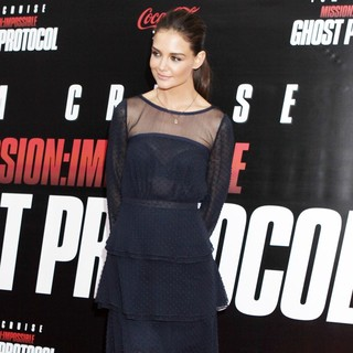 Katie Holmes in New York Premiere of Mission: Impossible Ghost Protocol