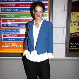 Katie Holmes in Opening Night Performance of The Other Place - Arrivals