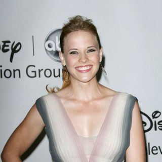 Katie Leclerc in 2011 Disney ABC Television Group Host Summer Press Tour