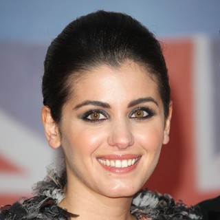 Katie Melua in The BRIT Awards 2012 - Arrivals