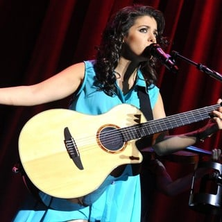 Katie Melua Performs During A Sold Out Concert
