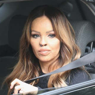 Katie Piper Outside ITV Studios