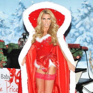 Katie Price in Katie Price Launches Her New Book Santa Baby During A Photocall