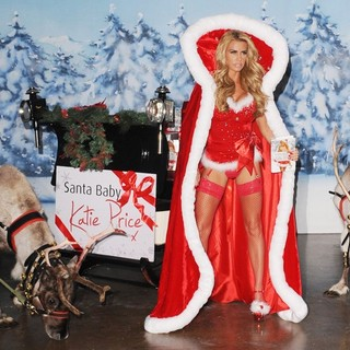 Katie Price - Katie Price Launches Her New Book Santa Baby During A Photocall