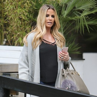 Katie Price Outside ITV Studios