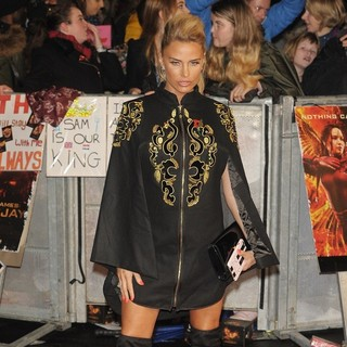 Katie Price in The Hunger Games: Mockingjay, Part 2 UK Film Premiere - Arrivals
