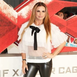 Katie Price in The European Premiere of XXX: Return of Xander Cage - Arrivals