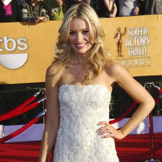 Katrina Bowden in The 18th Annual Screen Actors Guild Awards - Arrivals - katrina-bowden-18th-annual-screen-actors-guild-awards-03
