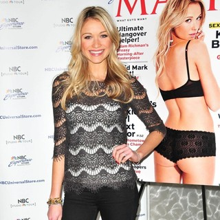 Katrina Bowden in Katrina Bowden Visits The NBC Experience Store and Signs Copies of Her Maxim Cover Issue