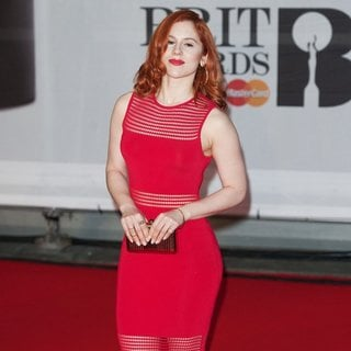 Katy B in The Brit Awards 2014 - Arrivals - katy-b-brit-awards-2014-02