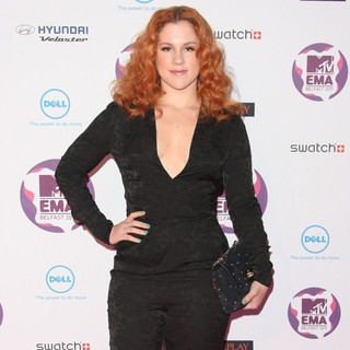 Katy B in The MTV Europe Music Awards 2011 (EMAs) - Arrivals - katy-b-mtv-europe-music-awards-2011-03