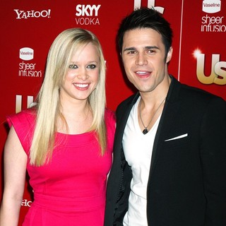Katy O'Connell, Kris Allen in US Weekly's Hot Hollywood 2009 Party