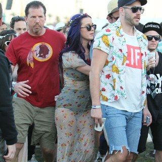 Katy Perry in Celebrities at The 2012 Coachella Valley Music and Arts Festival - Day 2