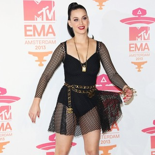 Katy Perry in 20th MTV Europe Music Awards - Press Room