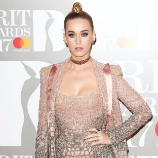 Katy Perry - The Brit Awards 2017 - Arrivals