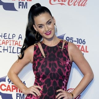 Katy Perry in The Capital FM Jingle Bell Ball 2013 - Day 1 - Arrivals