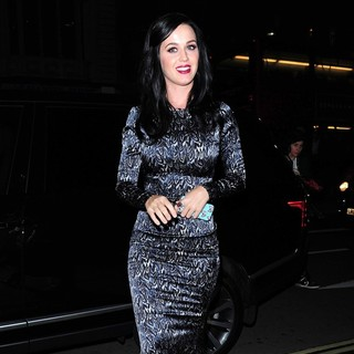 Katy Perry in Katy Perry Dines Out in Central London