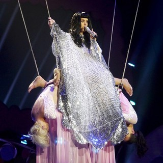 Katy Perry in Katy Perry Performing at The O2 Arena