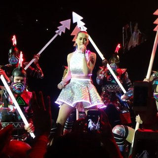 Katy Perry Performing Live on Stage on Prismatic World Tour